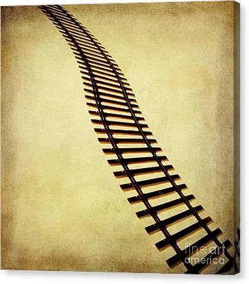 Railway Canvas Print by Bernard Jaubert