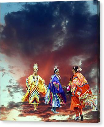 Rain Dance Two Canvas Print by Irma BACKELANT GALLERIES