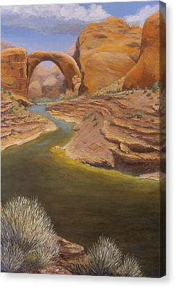 Rainbow Bridge Canvas Print by Jerry McElroy