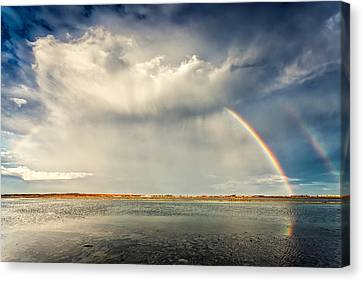 Rainbow Canvas Print by Evgeni Dinev