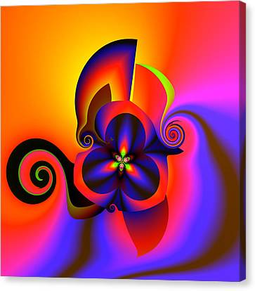Rainbow Infusion Canvas Print by Claude McCoy