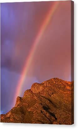 Rainbow No.12 Canvas Print by Mark Myhaver
