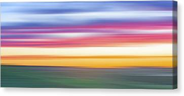 Rainbow Withouut Water X Canvas Print by Jon Glaser