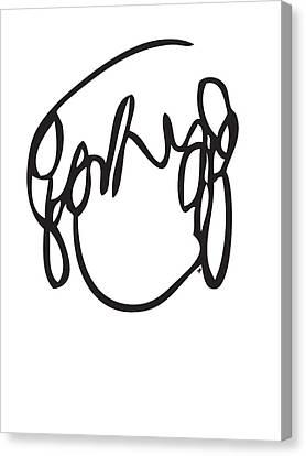 Ramona Flowers Black - Scott Pilgrim Vs The World Canvas Print by Paul Telling