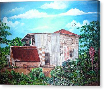 Rancho Viejo Canvas Print by Jose Lugo