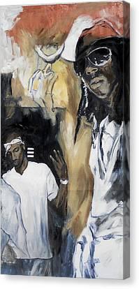 RAP Canvas Print by Jani Heinonen