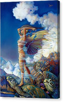 Rapture And The Ecstasea Canvas Print by Patrick Anthony Pierson