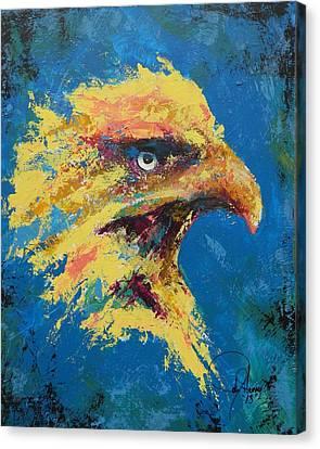 Rare Eagle Canvas Print by John Henne