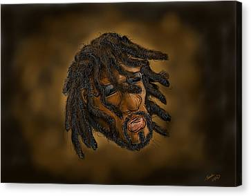 Rasta Canvas Print by Sasank Gopinathan