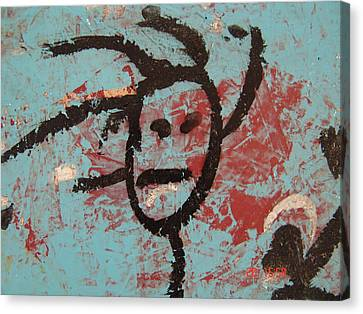 Rastaman Canvas Print by Pat  Lackenbauer