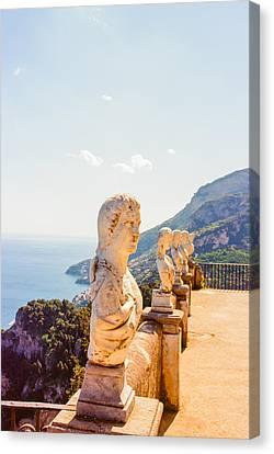 Ravello Amalfi Coast Italy Canvas Print by Ariane Moshayedi