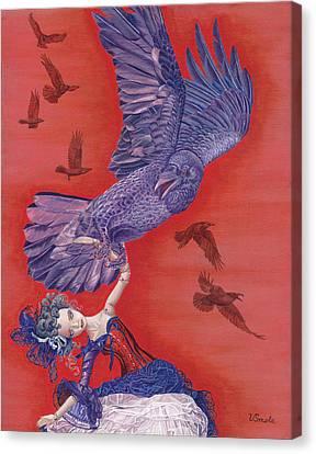 Ravenous Canvas Print by Vlasta Smola