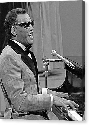 Ray Charles Canvas Print by Pd