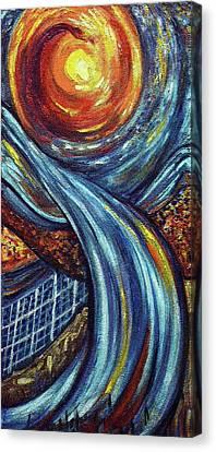 Ray Of Hope 3 Canvas Print by Harsh Malik