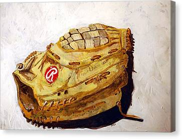 Rbg 36 Dale Murphy  Canvas Print by Jame Hayes