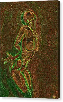 Reach Canvas Print by Aiden Galvin