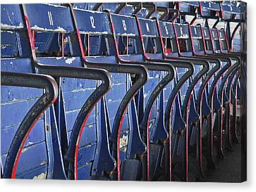 Ready For Red Sox Canvas Print by Donna Shahan