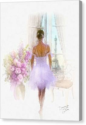 Ready Canvas Print by Mo T