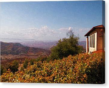 Reagan Library Overlook Canvas Print by Glenn McCarthy Art and Photography