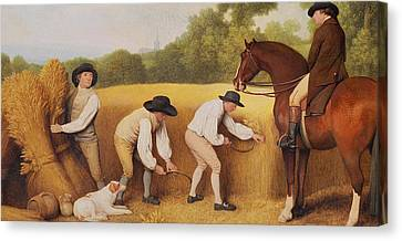 Reapers Canvas Print by George Stubbs