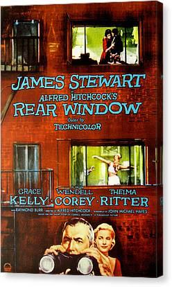 Rear Window, Grace Kelly, James Canvas Print by Everett