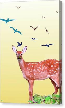 Reborn Spring Canvas Print by Debra     Vatalaro