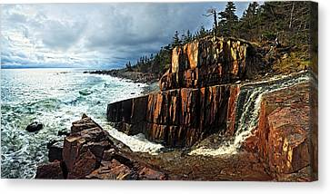 Receding Storm Canvas Print by Bill Caldwell -        ABeautifulSky Photography