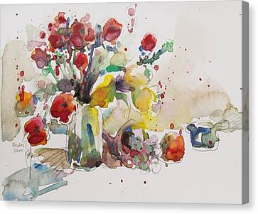 Reception Canvas Print by Becky Kim