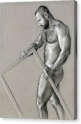 Rectangle 2 Canvas Print by Chris Lopez