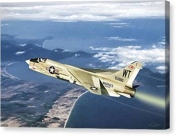 Red 1 Lead Canvas Print by Peter Chilelli