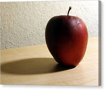 Red Apple Canvas Print by Eric Forster