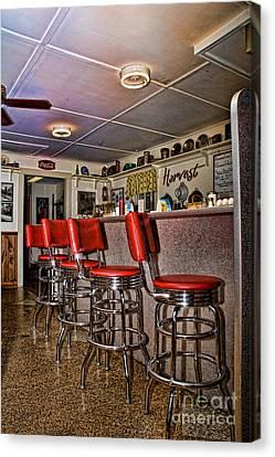 Red Cottage Restaurant Canvas Print by Edward Sobuta