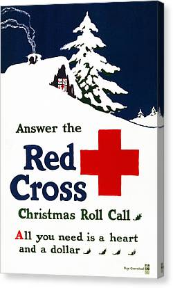 Red Cross Poster, C1915 Canvas Print by Granger
