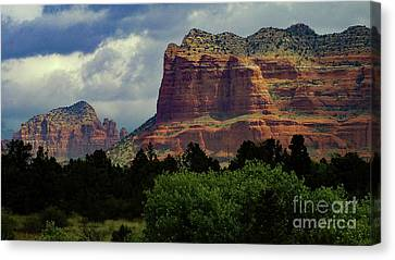 Red Rock Country, Sedona Canvas Print by Chandra Nyleen