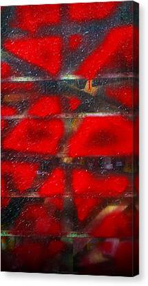 Red Scare Canvas Print by Skip Hunt