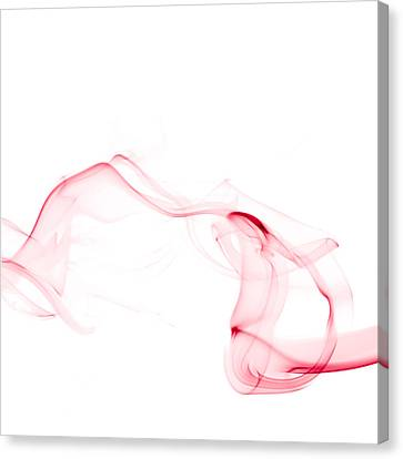 Red Smoke Canvas Print by Scott Norris