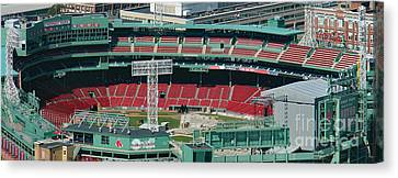 Red Sox - Fenway Park  Canvas Print by Bill and Deb Hayes