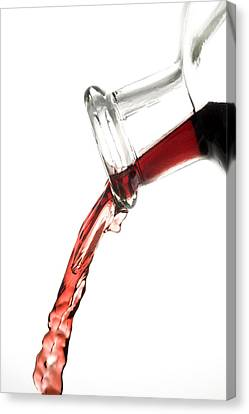 Red Wine Canvas Print by Frank Tschakert