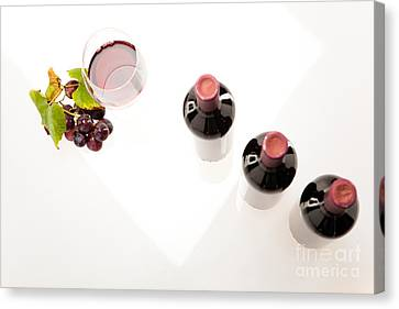 Red Wine Canvas Print by Wolfgang Steiner