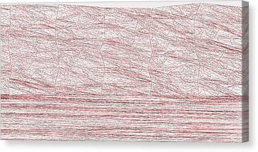 Red.315 Canvas Print by Gareth Lewis