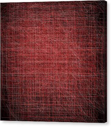 Red.60 Canvas Print by Gareth Lewis