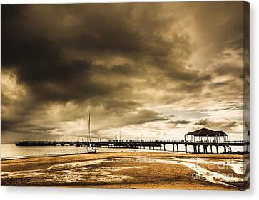 Redcliffe Jetty Canvas Print by Jorgo Photography - Wall Art Gallery