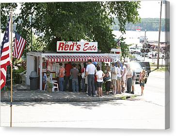 Red's Eats Canvas Print by Jerry Patterson