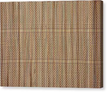 Reed Lining Texture Canvas Print by Miroslav Nemecek