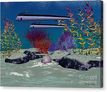 Reef Canvas Print by Corey Ford