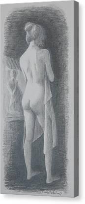 Reflect Canvas Print by Tomas OMaoldomhnaigh