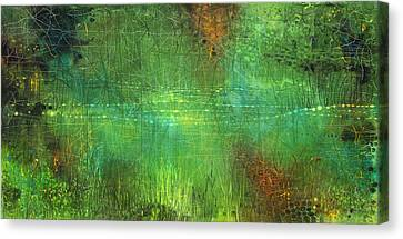 Reflections Canvas Print by Lolita Bronzini