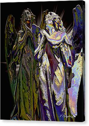 Reflections Of Faith Canvas Print by Jean Gugliuzza