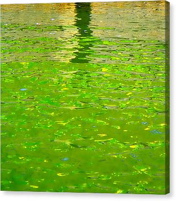 Reflections On Cambridge Canvas Print by Roberto Alamino