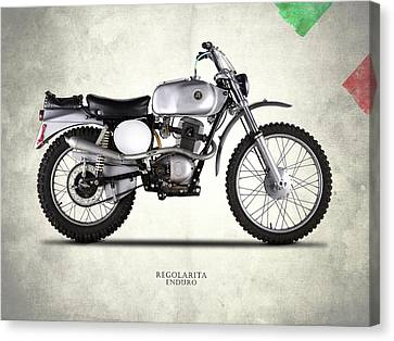 Regolaita Enduro 1970 Canvas Print by Mark Rogan